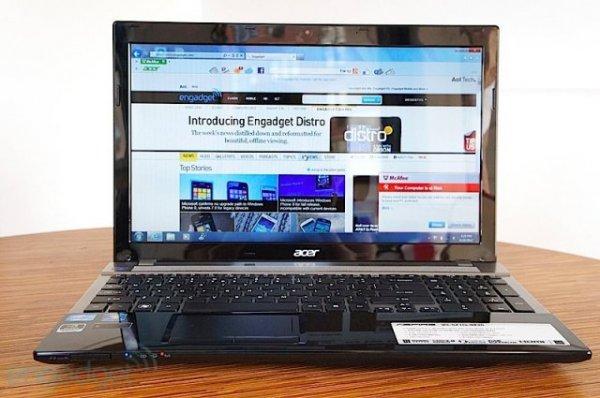 Acer Aspire V3 - ноутбук с графикой Kepler