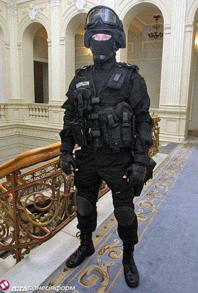 Новая форма для украинской полиции