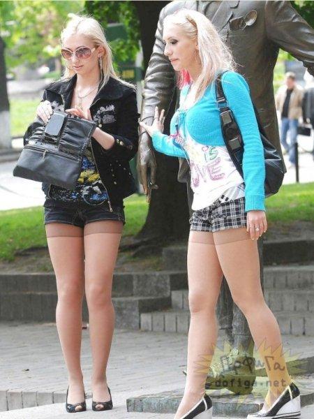 Девочки творят моду