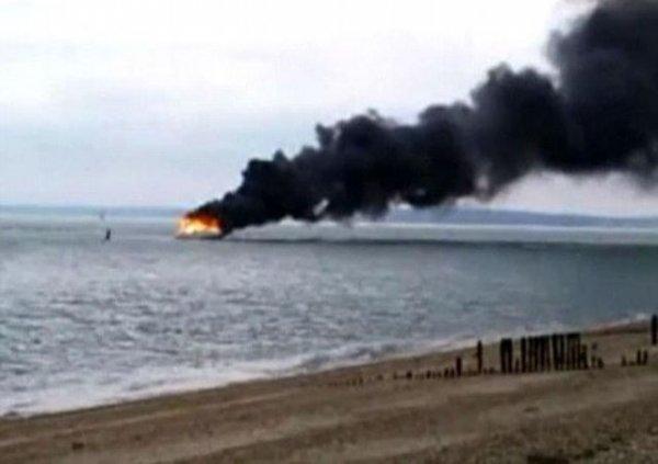 Как выгорают яхты
