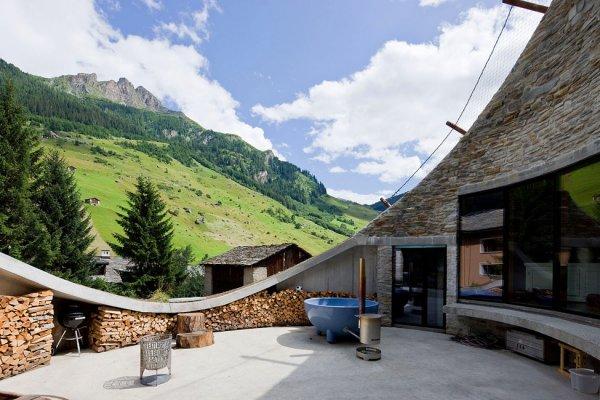 Вилла Вальс в Швейцарских Альпах