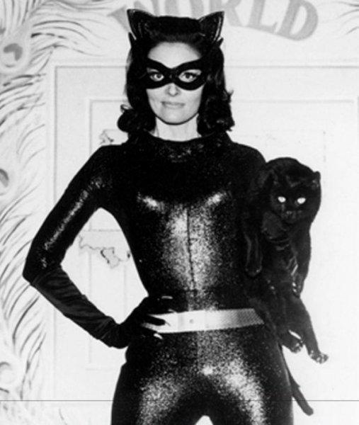 Эволюция женщины-кошки