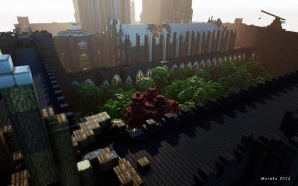 Волшебные миры Minecraft