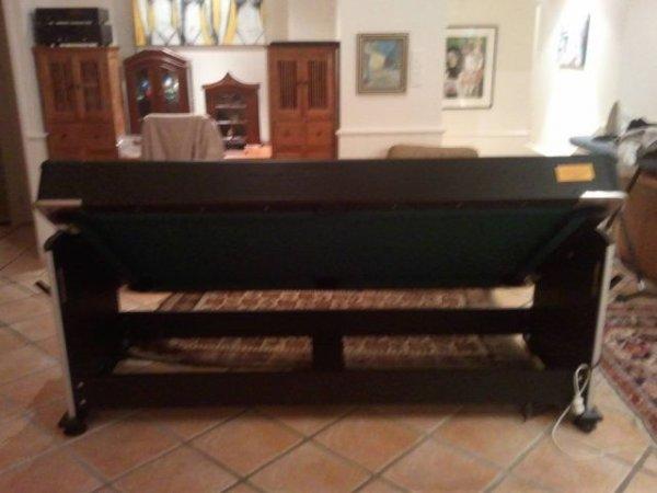 Бильярдный стол с секретом