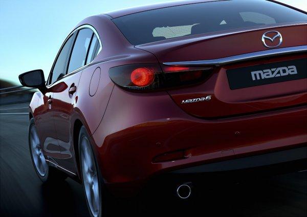 В сеть утекли фото Mazda6 2014