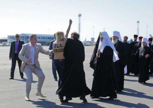 FEMEN и Кирилл. Подробности
