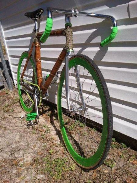 Велосипед из бамбука