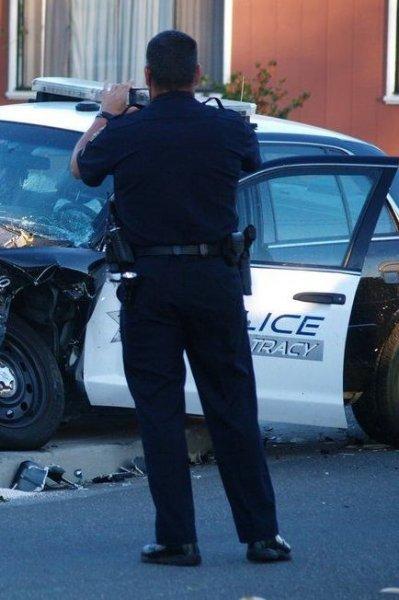 Неудачный день у полицейских