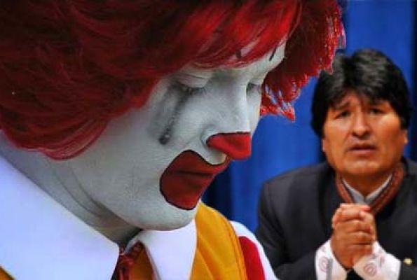 Coca-Cola и McDonald's прекращают работу в Боливии