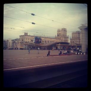 Минск в Instagram, вечер 1 августа