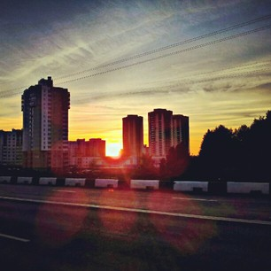 Минск в Instagram, вечер 2 августа