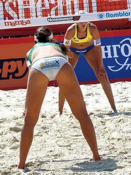 Женский пляжный волейбол