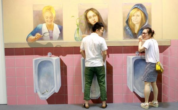 Выставка 3D живописи