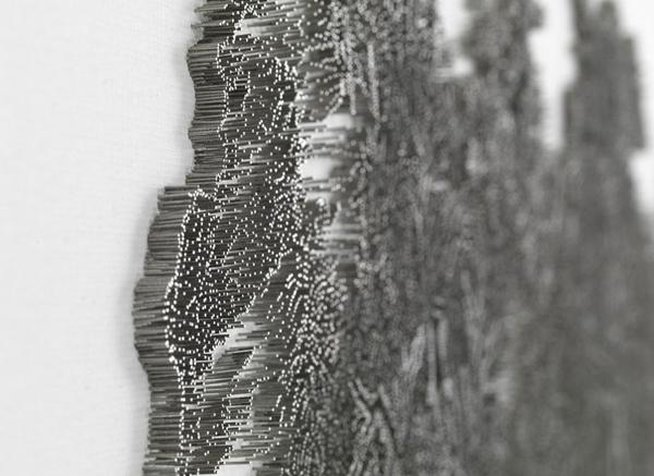 Рисунки гвоздями