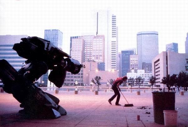 Как снимали Робокоп