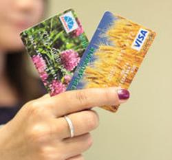 В Беларуси снизилось количество банковских карточек