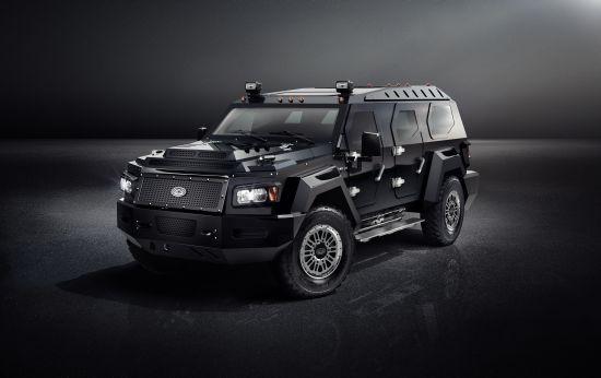Conquest Vehicle выпустили первый автомобиль без брони