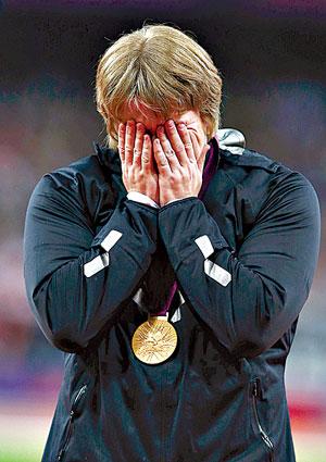 Конкурентка белоруски будет рада, если Остапчук вернут золотую медаль