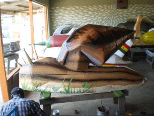 Креативные гробы из Африки
