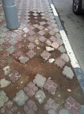 Москва отказалась от тротуарной плитки