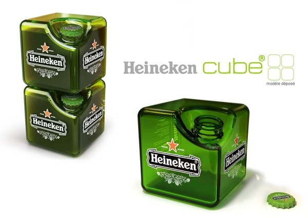 Концепт кубика для пива