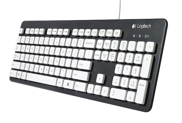 Logitech выпустила клавиатуру для грязнуль