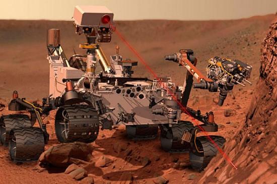 Десять любопытных фактов о марсоходе Curiosity
