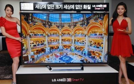 LG начала продажи 84-дюймового LCD-телевизора