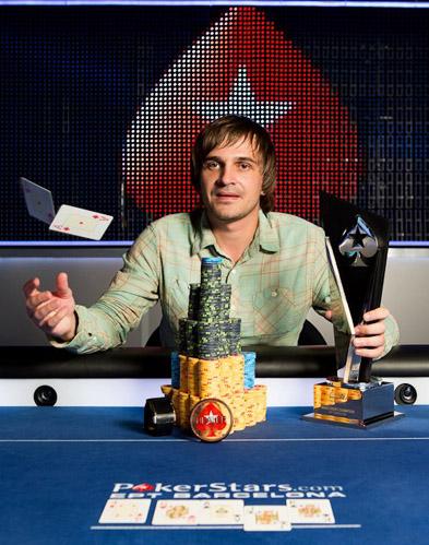 Белорус выиграл 1 миллион евро в покер