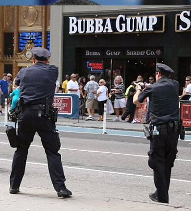 Все 9 пострадавших в перестрелке в Нью-Йорке были ранены полицией
