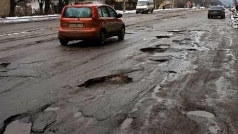 Дороги Украины и России - худшие из 148 стран, Беларусь - 67-я