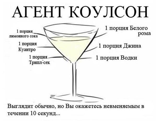 """Коктейли для фанатов фильма """"Мстители"""""""