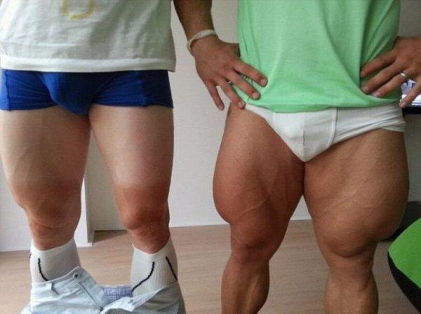 У кого такие ноги?