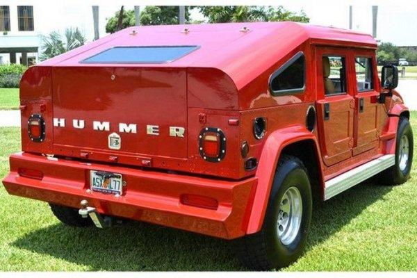 Как изуродовать Hummer H1