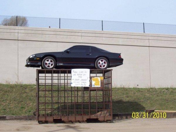 Месть за неправильную парковку в США