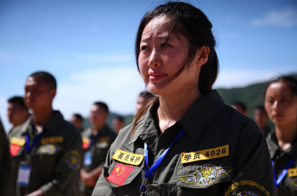 Подготовка китайских телохранителей