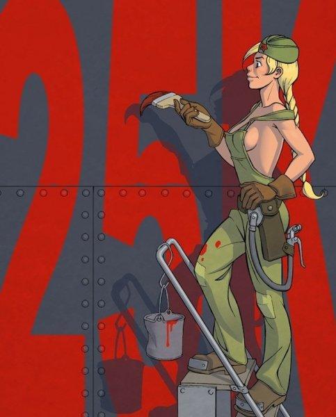 Альтернативный СССР в рисунках