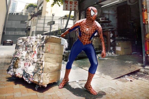 Супергерои в обычной жизни