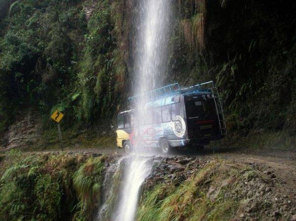 Боливийские дороги