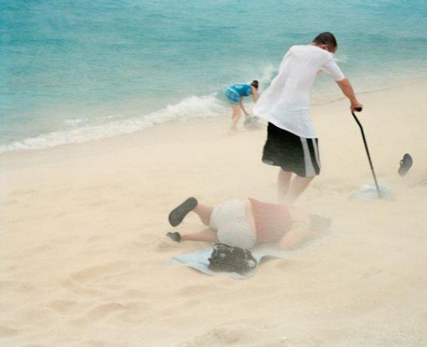 Ляжь на пляж под фюзеляж!