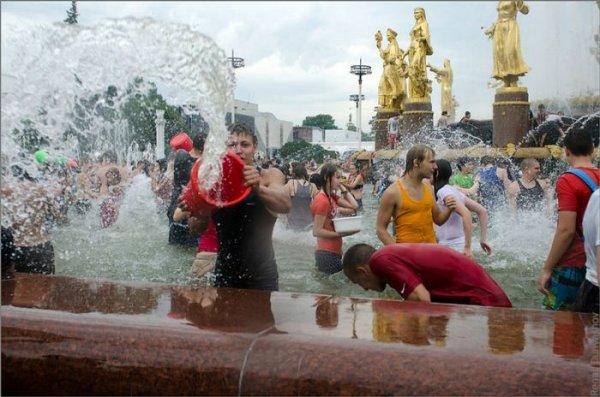 Водная война в Москве