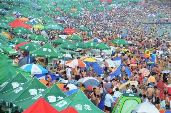 Жаркий день в Китае