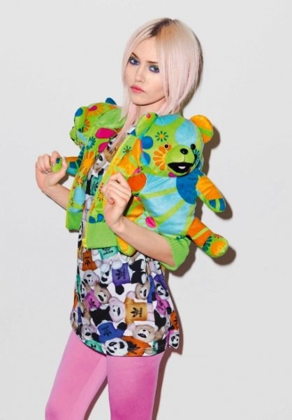 Новая коллекция от Adidas - с плюшевыми мишками