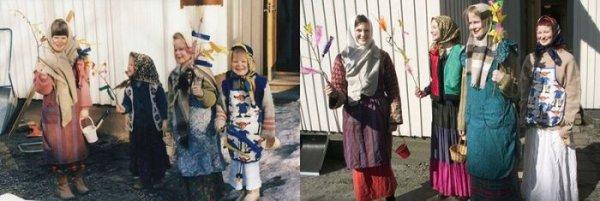 Четыре сестры и ремейки детских фото