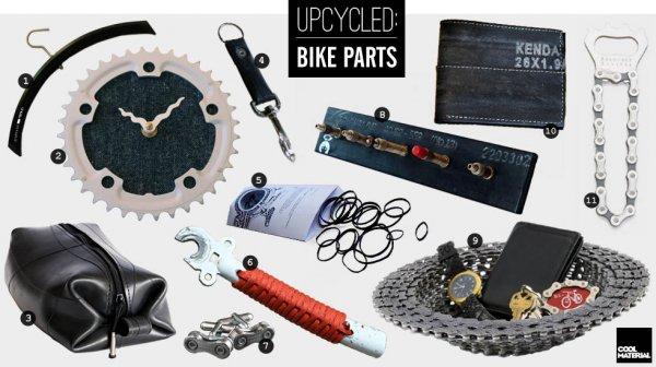 Из обломков велосипеда