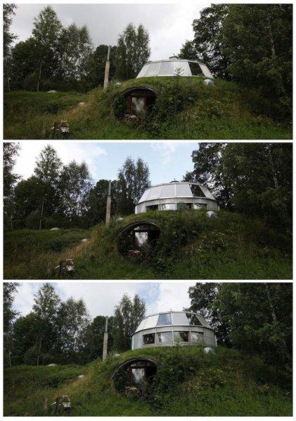 Странный дом построил чех