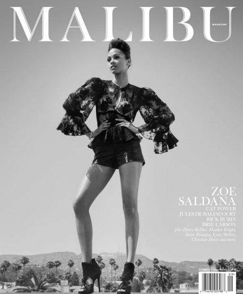 Зои Салдана для Malibu