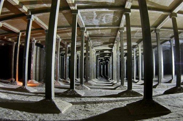 Подземные водохранилища в центре Киева