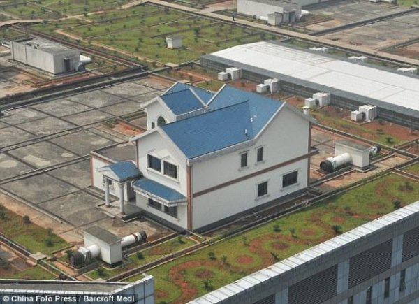 Особняки на крыше