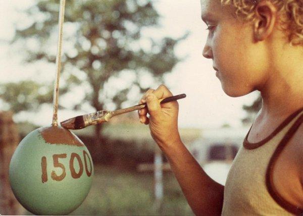 Мячик и более 20000 слоев краски